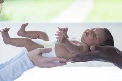 新出生的喜悦 图库摄影