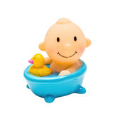新出生的塑料明亮的玩具 免版税图库摄影