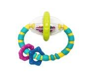 新出生的塑料明亮的玩具 库存照片