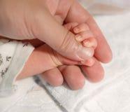 新出生的婴孩现有量 图库摄影