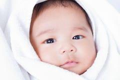 新出生的婴孩2。 库存图片