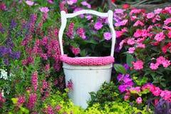 新出生的祝愿的好的庭院支柱数字照片背景  库存图片