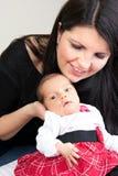 新出生的婴儿 免版税图库摄影