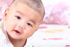 新出生的婴孩4。 免版税库存图片