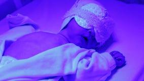 新出生phototherapy 股票视频