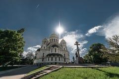 新切尔卡斯特,俄罗斯- 2016年5月9日:上生大教堂在新切尔卡斯特 库存照片