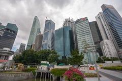 新加坡中央事务Distric 库存照片