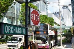 新加坡乌节路  库存图片