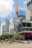 新加坡乌节路  免版税库存照片