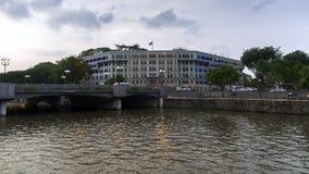 新加坡交通部和信息和科尔曼 库存照片
