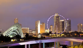 新加坡传单 免版税库存照片