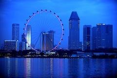 新加坡传单 库存照片
