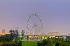 新加坡传单 图库摄影