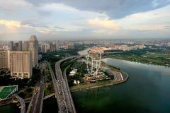 新加坡传单 免版税图库摄影