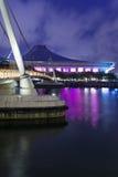 新加坡体育馆 免版税库存图片