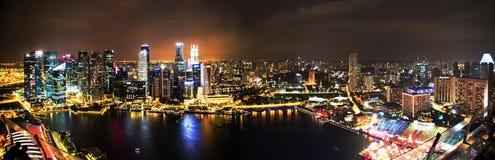 新加坡光  库存图片