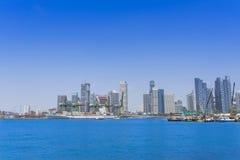 新加坡口岸 库存照片
