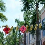 新加坡唐人街入口 图库摄影