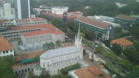 新加坡地平线图片天 库存图片