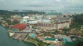 新加坡地平线图片天 免版税图库摄影