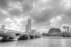 新加坡地平线 库存照片