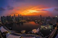 新加坡地平线 免版税图库摄影