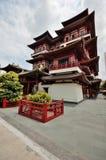 新加坡寺庙 免版税库存照片