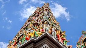 新加坡寺庙 影视素材
