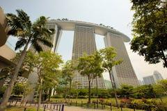 新加坡小游艇船坞海湾,新加坡 免版税图库摄影