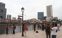 新加坡市游览 免版税图库摄影