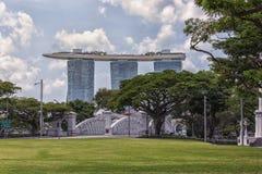 新加坡市自白天 免版税库存图片