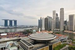 新加坡市视图 免版税库存照片