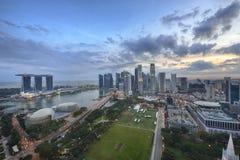 新加坡市 免版税图库摄影