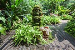 新加坡庭院 库存照片