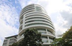 新加坡摩天大楼 图库摄影