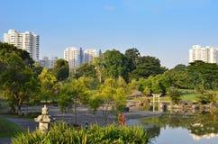 新加坡日本人庭院 免版税库存图片