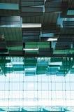 新加坡机场,离开霍尔 免版税库存照片