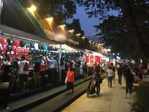 新加坡格兰披治F1 2015年 免版税图库摄影