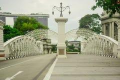 新加坡桥梁 图库摄影