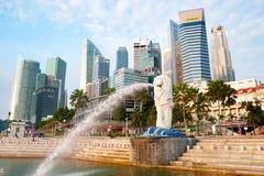 新加坡的标志 免版税库存图片