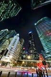 新加坡的财务区 免版税图库摄影