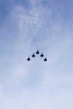 新加坡空军喷气式歼击机 免版税图库摄影
