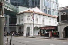 新加坡老镇 遗产样式 免版税库存图片