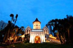 新加坡良木园酒店 图库摄影