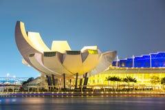 新加坡艺术科技馆 免版税图库摄影