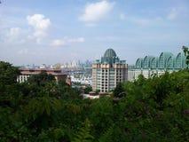 新加坡视图 免版税库存图片