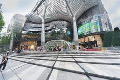 新加坡都市风景 免版税图库摄影