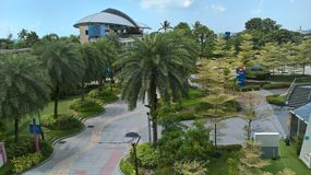 新加坡风景 库存照片