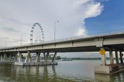 新加坡飞行物 库存照片