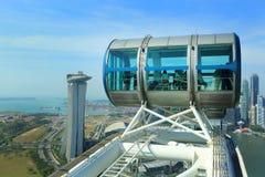 新加坡飞行物 图库摄影